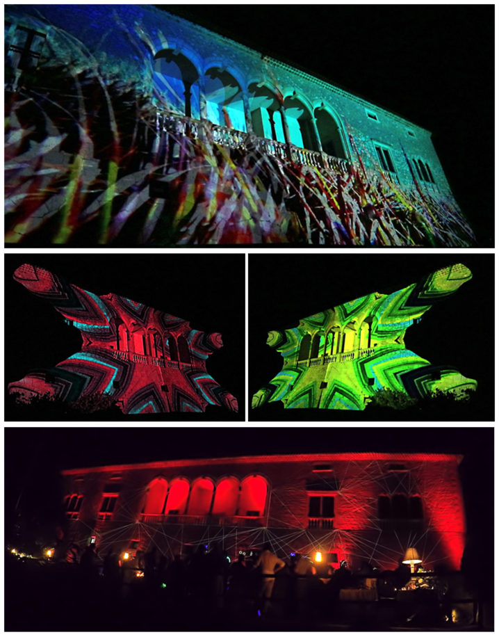 Interactive projection wedding